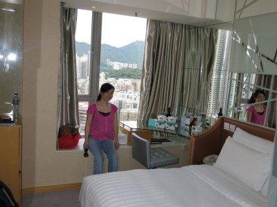 Staying at the Dorsett Mong Kok Hotel, Kowloon, Hong Kong