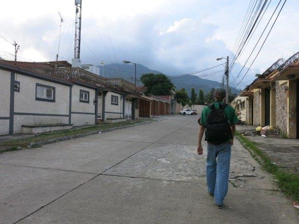 Backpacking in San Pedro Sula, Honduras.