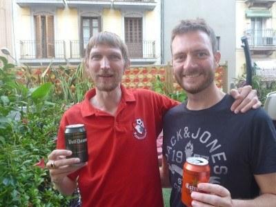 Cousins reunited - Paul Scott and I!!