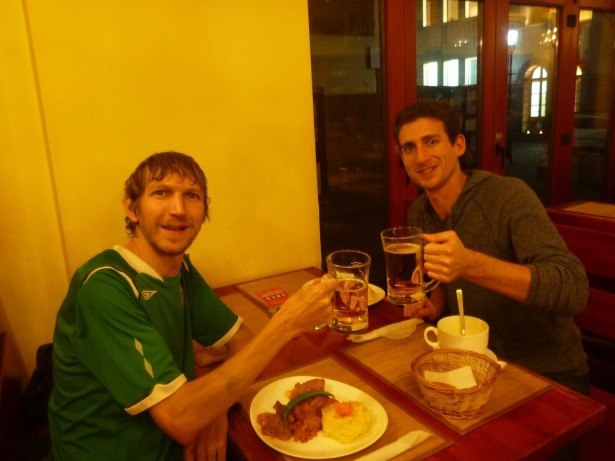 A night out with Wandering Earl in Romania