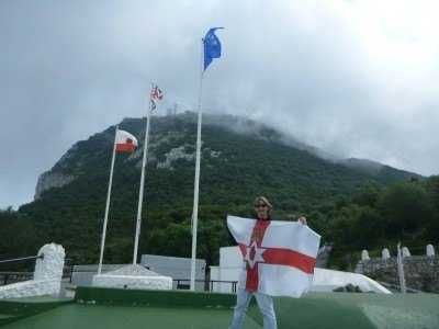 The hat-trick plus the wandering Northern Irishman's flag