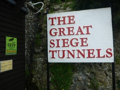 The Great Siege Tunnels in Gibraltar