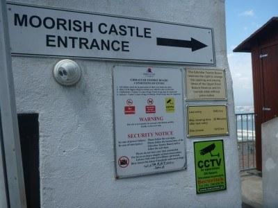Entrance to Moorish - £10 is a bit steep