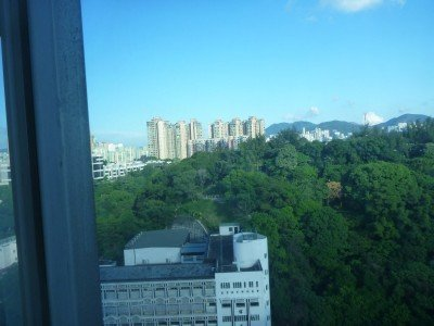 Kings Park and out to the eastern side of Kowloon