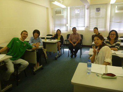 My wonderful classmates in the Cantonese course.