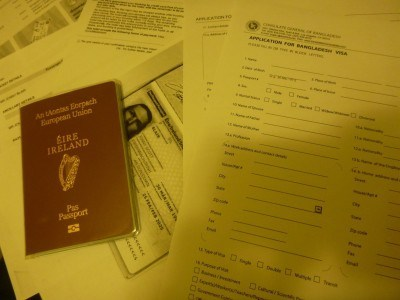 Getting my visa for Bangladesh