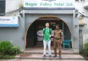 Staying at the Nagar Valley Hotel in Uttara Near Dhaka, Bangladesh