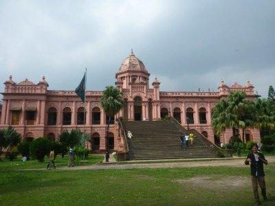 Ahsan Mazil Pink Palace, Old Dhaka, Bangladesh