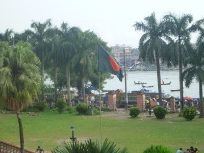 Bangladesh flag in Dhaka