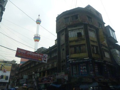 The Rainbow Mosque in Old Dhaka