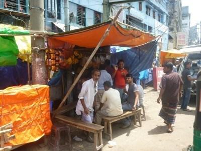 Central Bazaar in Chittagong.