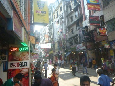 Downtown Chittagong