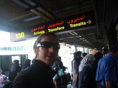 Arrival in Bahrain