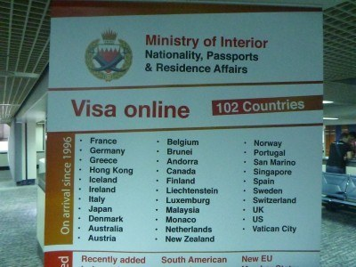 Visa on arrival for these countries