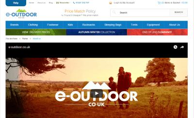 Tuesday's Travel Essentials: E-Outdoor, The UK's Best Backpacking Equipment Shop