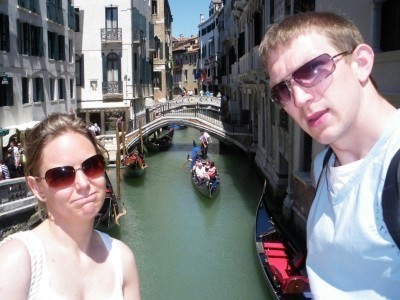 Backpacking in Venice, Italy