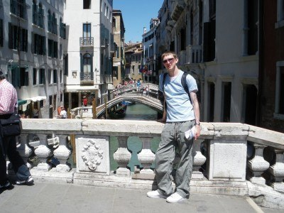 Backpacking in Venice Italy