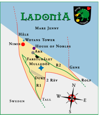 A Map of Ladonia