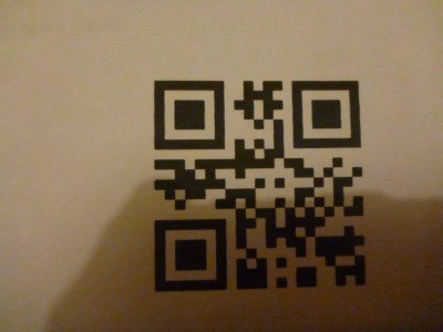 Scan this to get into the gig