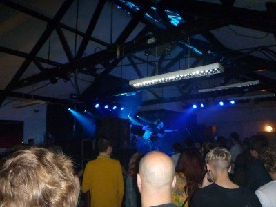 The Venue in Derby, England