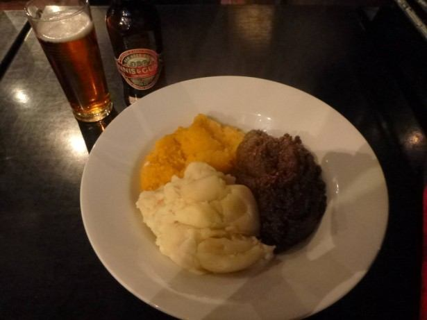 Haggis, Tatties and Neeps