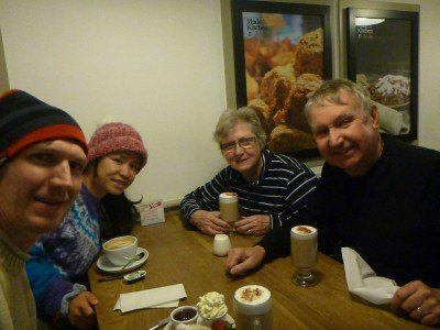 Tea and coffee at Donaghadee Garden Centre