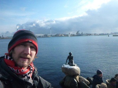 Backpacking in Copenhagen - Little Mermaid Statue