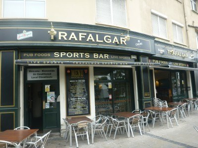 The Trafalgar Bar in Gibraltar