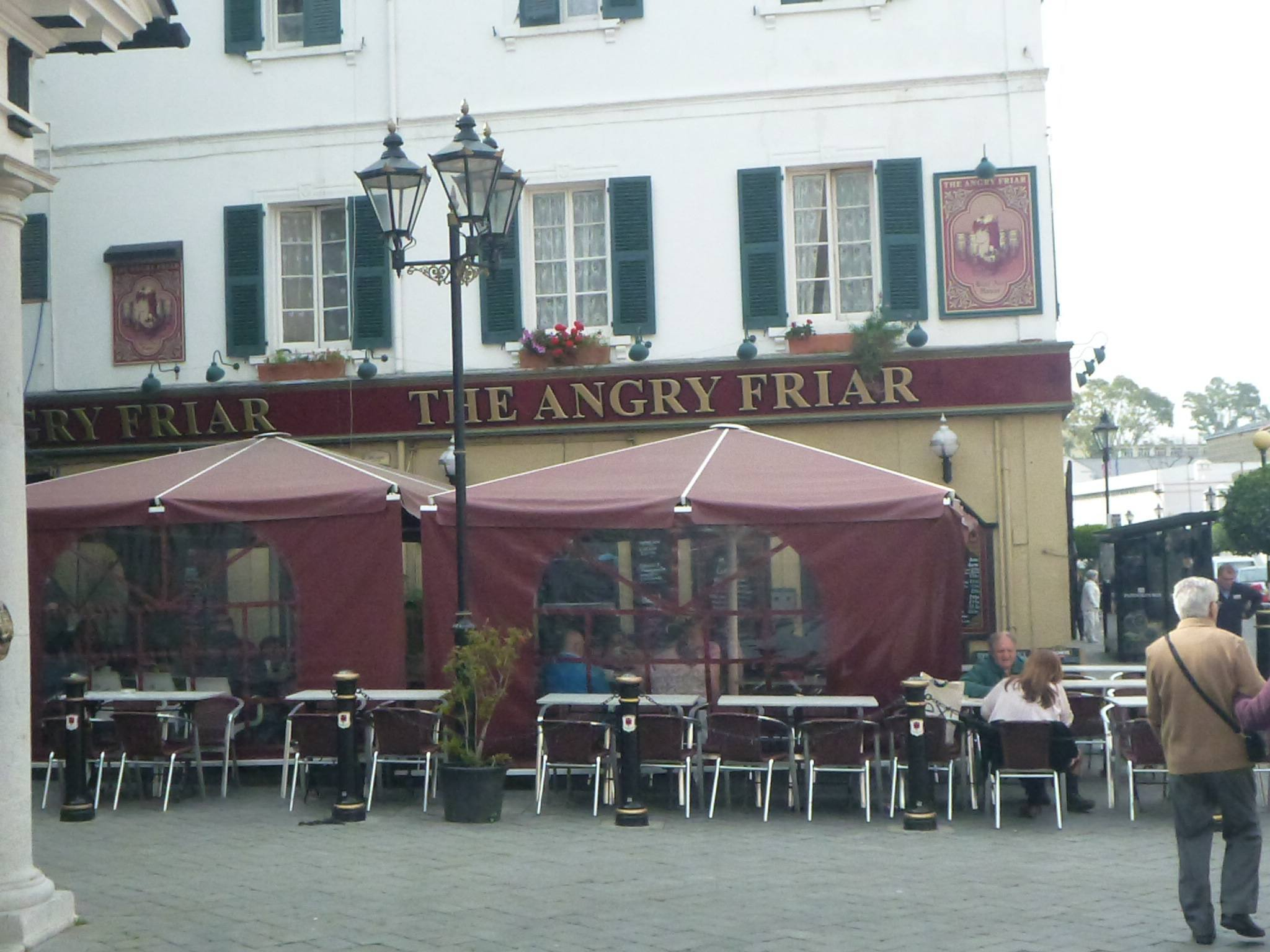 The Angry Friar Pub in Gibraltar
