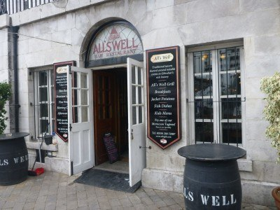 Alls Well Pub in Gibraltar