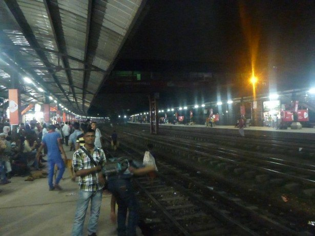 Dhaka Biman Bandar train station