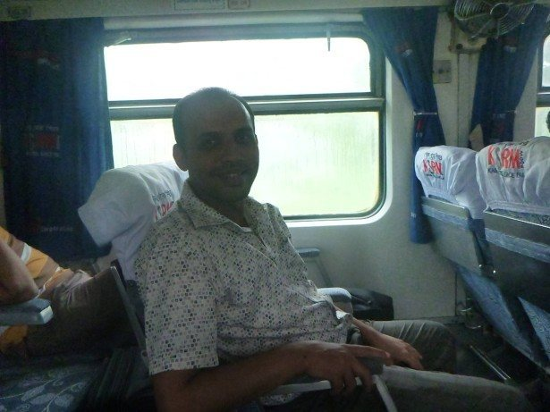 My friend Masoud near Baro Takia