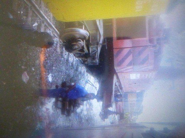 The horrific train accident