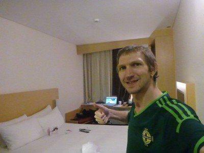 Loving my massive hotel room