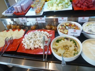 Fantastic breakfast selection at the Hotel Ibis Seef Manama