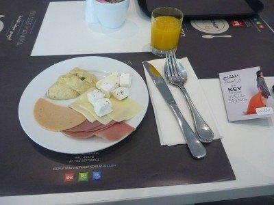 Started for breakfast