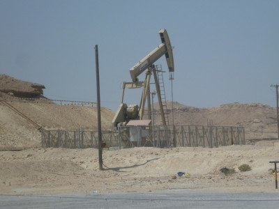 Bahrain's first ever oil well