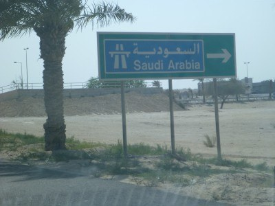 Driving to Saudi Arabia