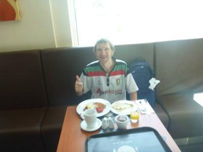 Fantastic breakfast selection at the Hotel Ibis Seef Manama