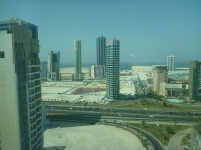 Ibis Seef Manama in Bahrain - view from my room