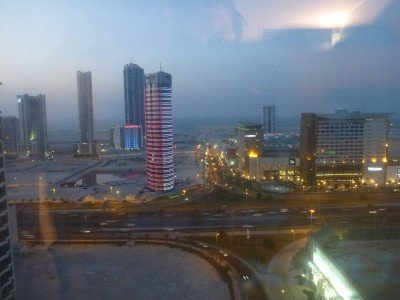 View by night from my room
