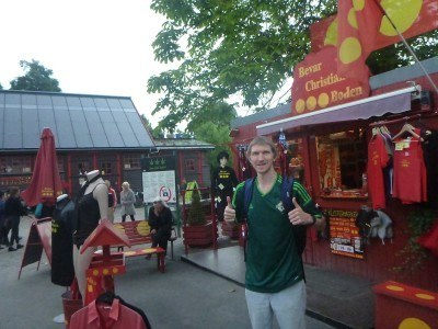 Backpacking in Christiania (the Freetown in Copenhagen)