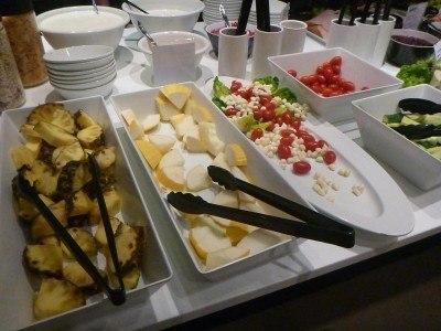 Huge breakfast selection at the Park Inn by Radisson in Copenhagen