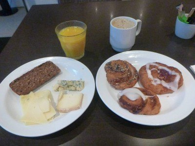 Huge breakfast selection at the Park Inn by Radisson in Copenhagen