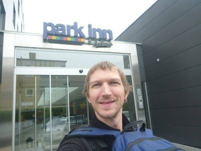 Arrival at the Park Inn by Radisson