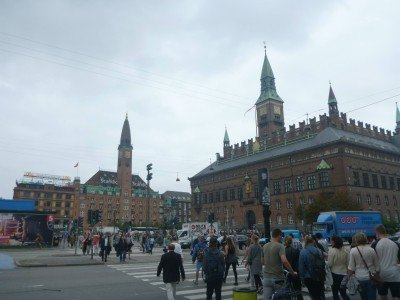 Downtown Copenhagen - touring the sights