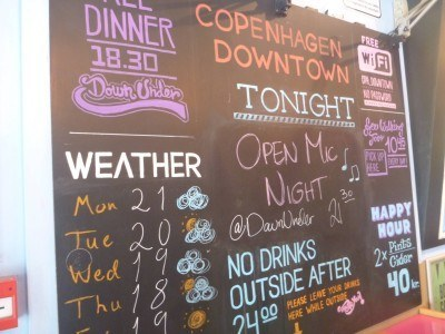 Events on at the Copenhagen Downtown Hostel
