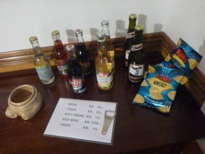 Drinks available