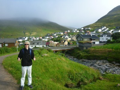 Backpacking in Sorvagur, Faroe Islands