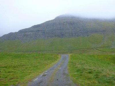 The start of the hike to Gasadalur